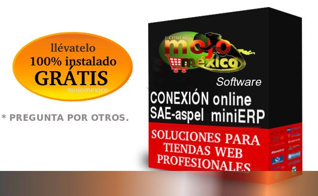 Conector SAE-aspel con tiendas Web Profesionales Magento, Woocommerce, Prestashop y otros.