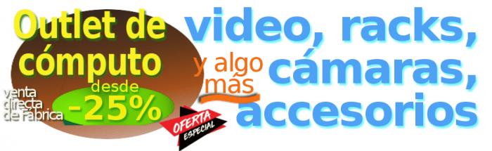 ofertas de computacion en Outlet plaza Americas